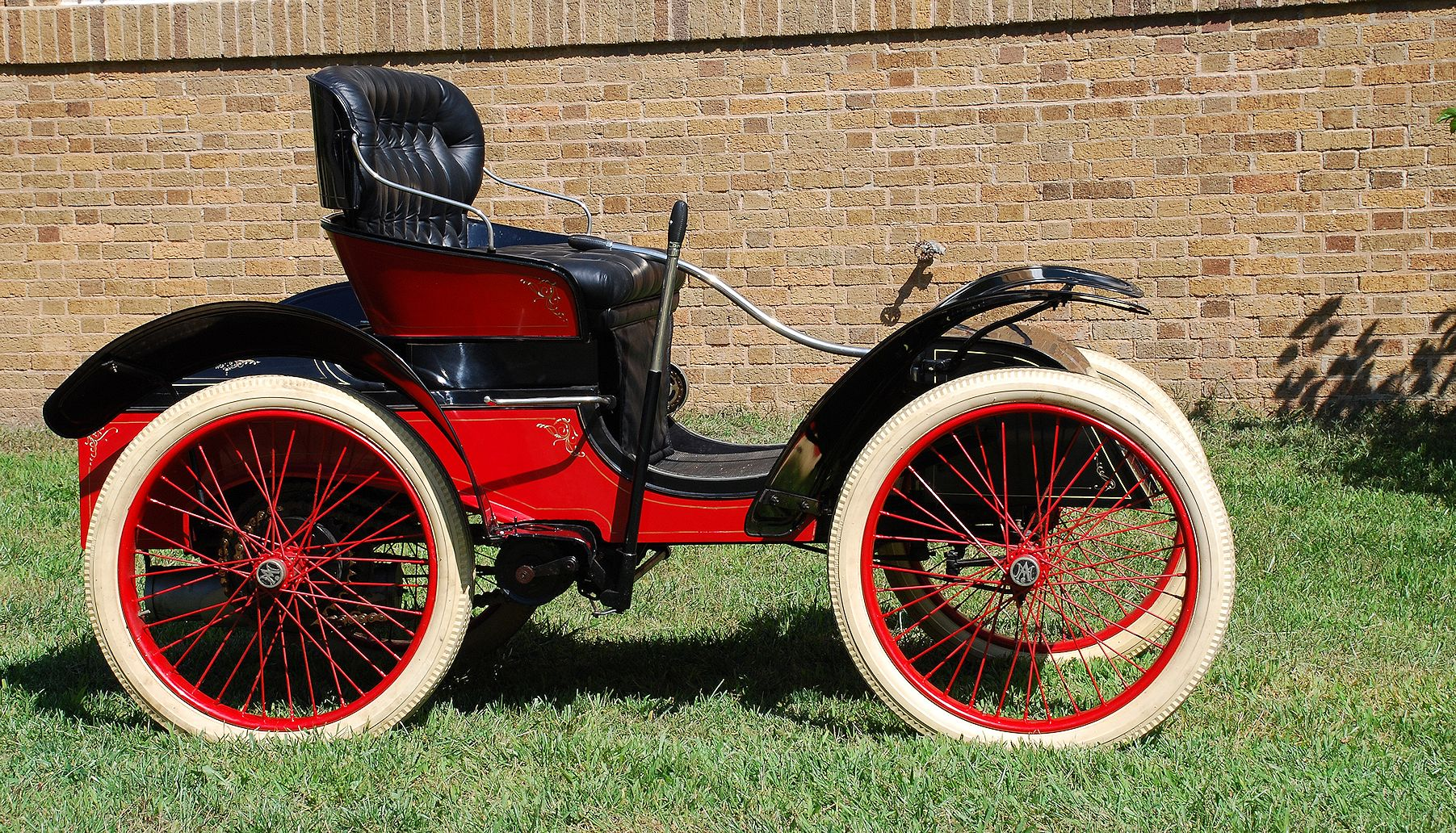 This 1903 Michigan Automobile is currently in the collection of the Sauk County Historical Society.