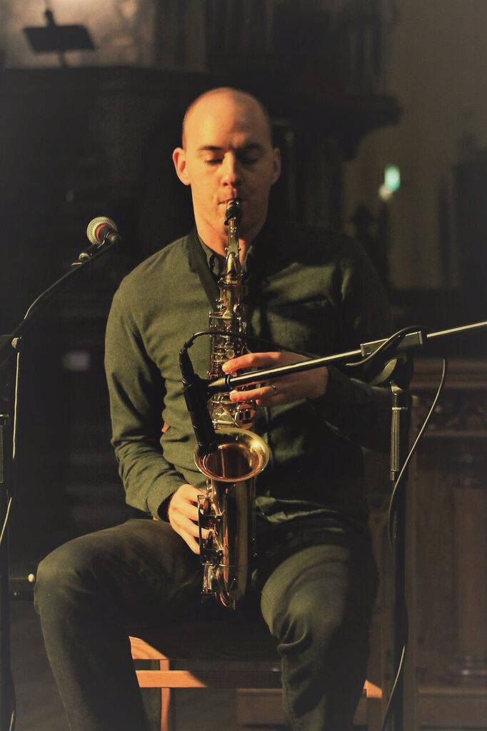 Irish music saxophone