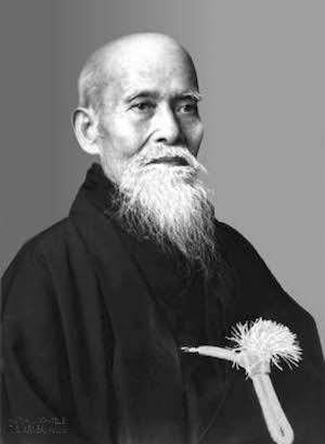 "Morihei Ueshiba (""O-Sensei"") Founder of Aikido"
