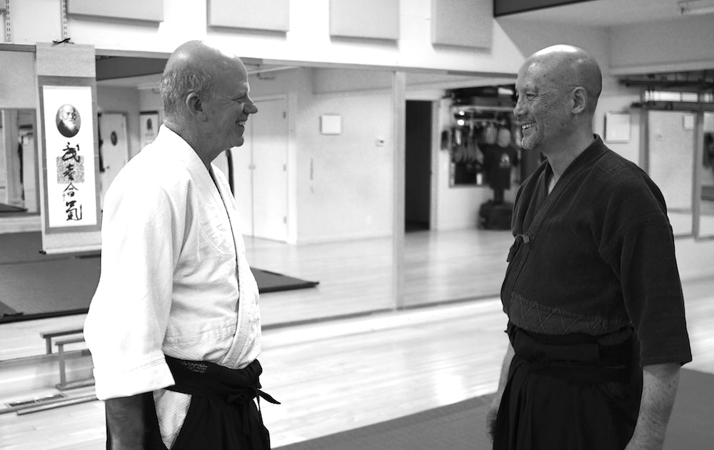 45 years of friendship on the path of Aikido.