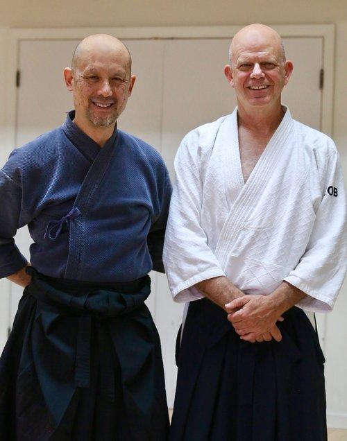 Jason Yim and Rob Okun, continuing the Iwama lineage.