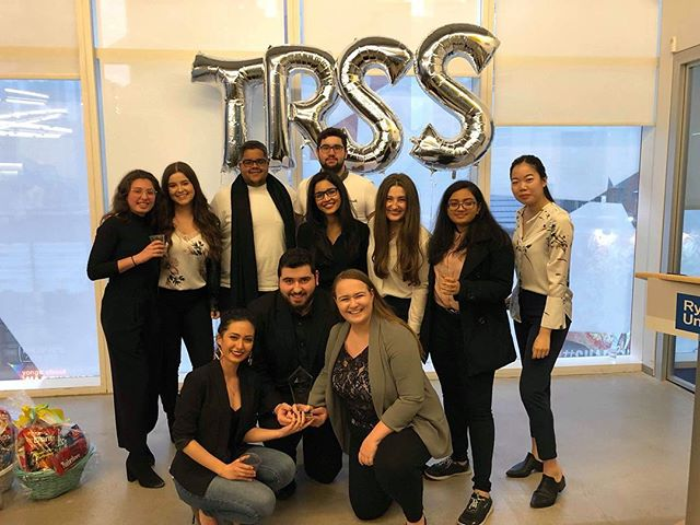 Enactus Ryerson is proud to win two awards at the TRSS Awards Ceremony. Every year all student groups come together to get recognized for their work and efforts throughout the year. We are very proud to win a collaboration award with @rmaryerson and @rgmgonline and we hope to collaborate with more student groups next year!