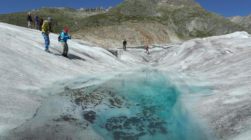 Vanishing Glaciers and 'Last-Chance Tourists'