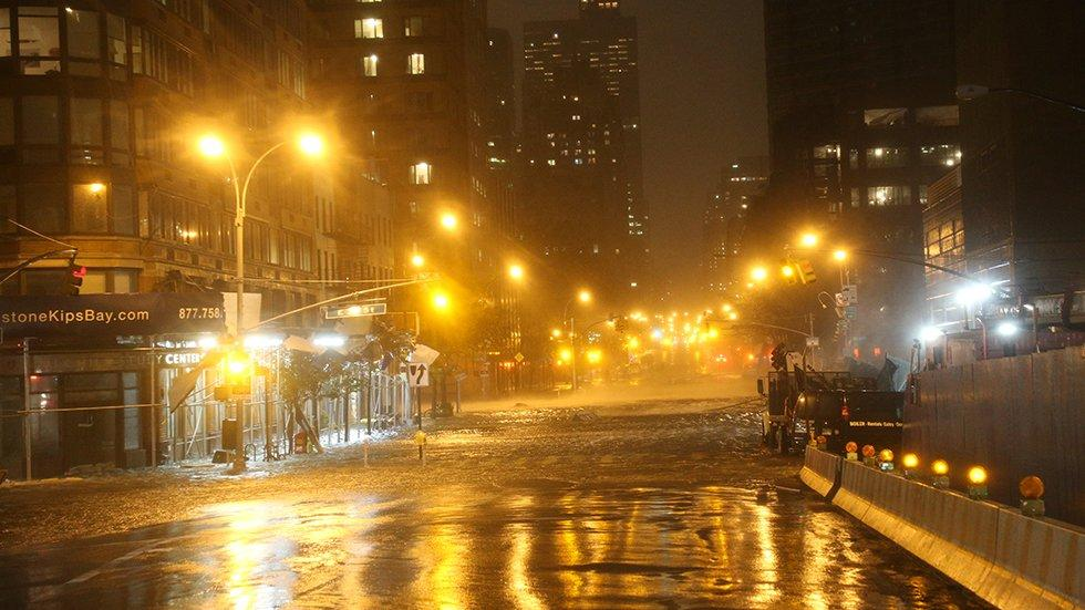 'Science Doesn't Stop' Post-Superstorm Sandy