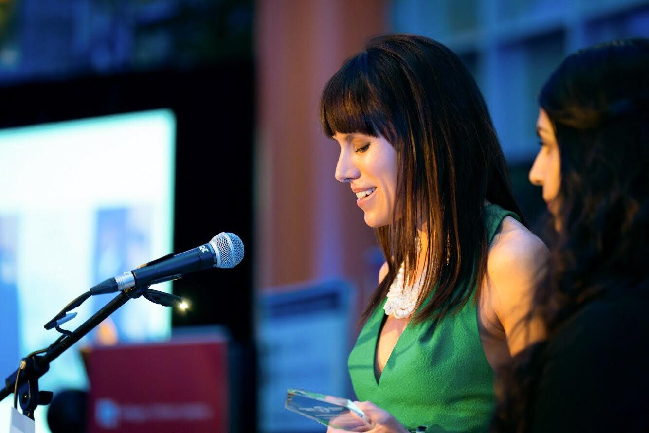 Emily & Tas, Acceptance Speech