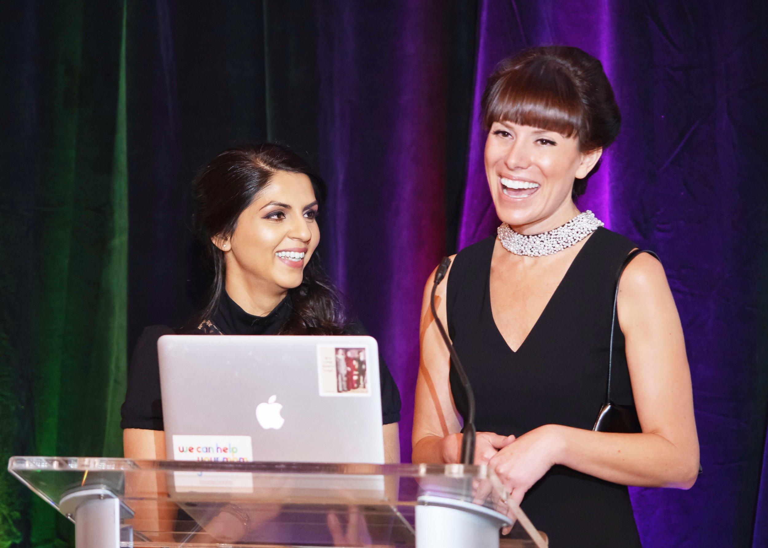 Co-founders Emily & Tasneem
