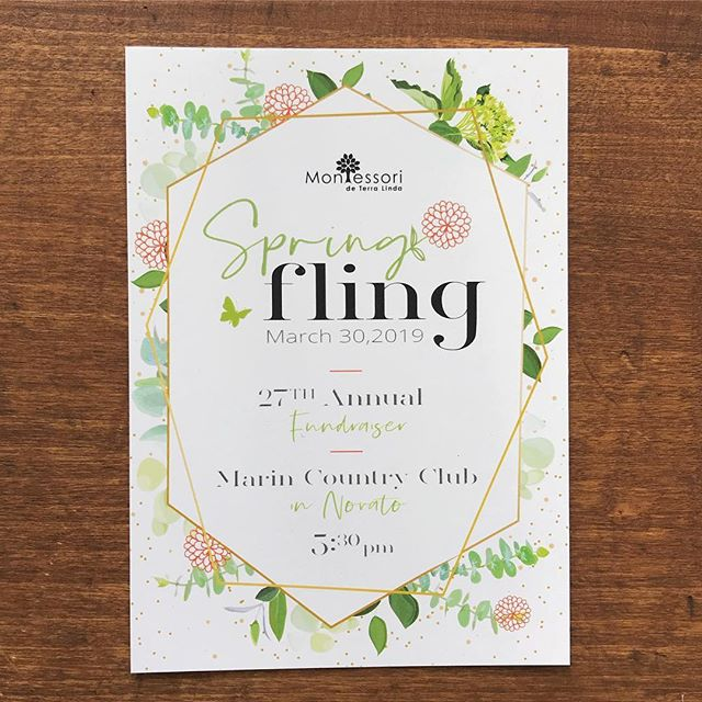 Feeling those spring vibes today! ☀️🌷🌱do you have a #springfling that requires printed #invitations? We've got you covered!