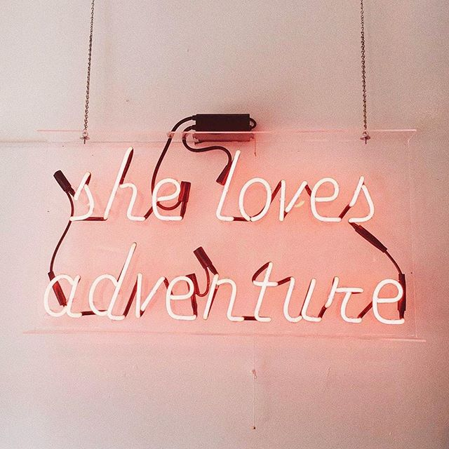 Indeed! 🗺 Where are your summer travels taking you, lovelies...?  Via @fabfitfun 📸 @zoelaz . . . #LoveMineSkincare #LoveMine #naturalskincareproducts #intentions #createcultivate #adventuremore #adventuregram #travelgirls #bloggerlifestyle #bloggergirls #bloggergirl #summerstyles #slayallday #lightworkers #neonsigns