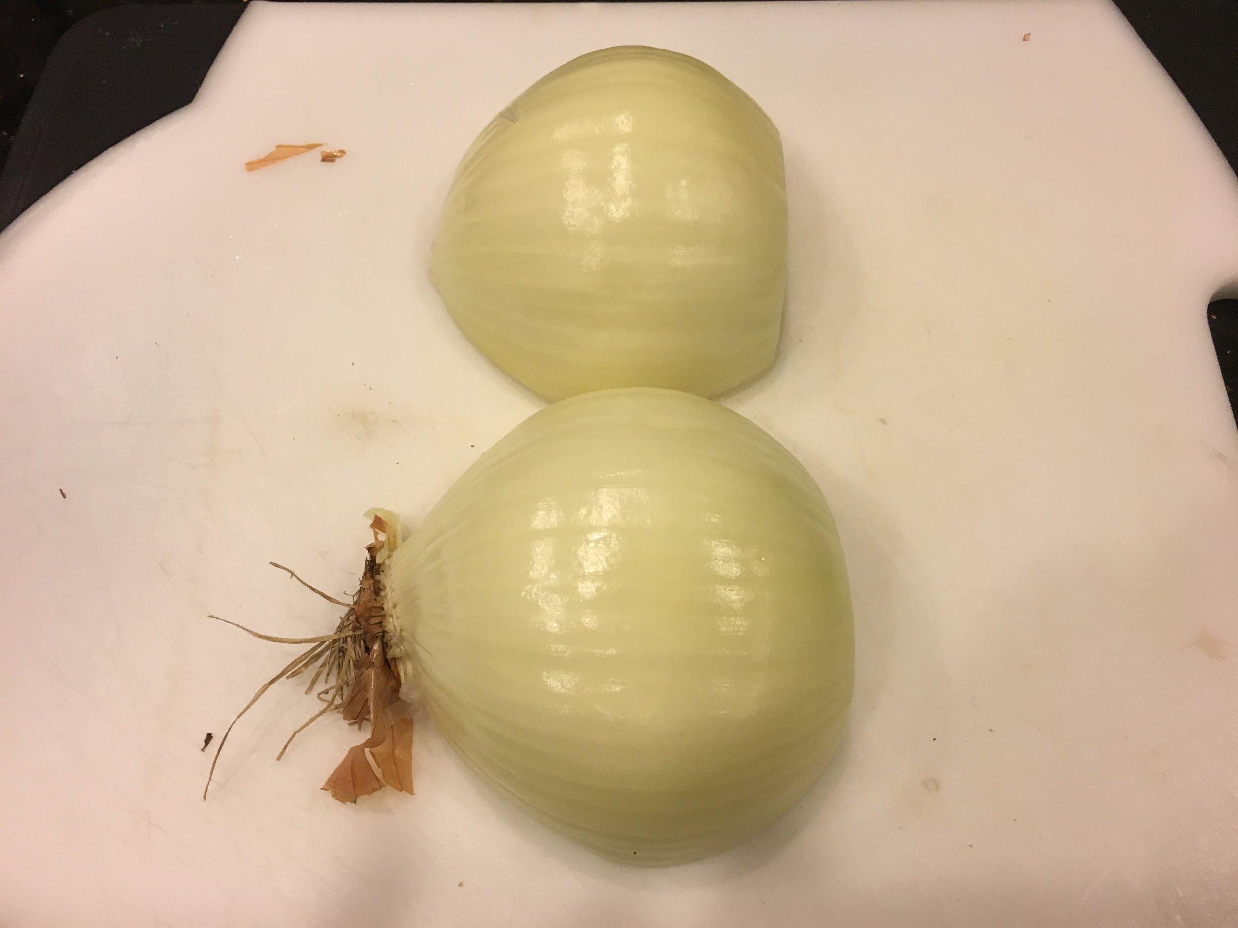 Onion prep