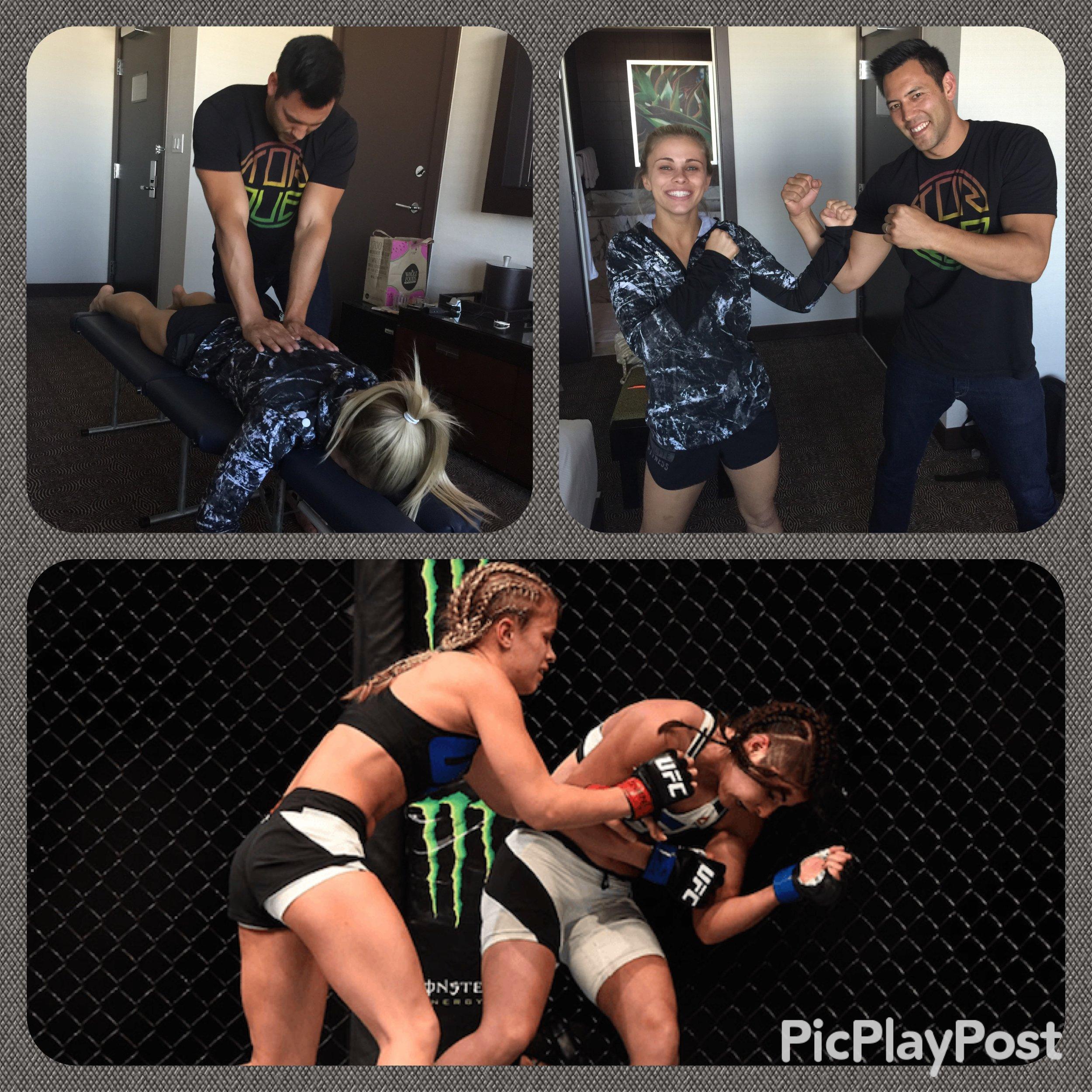 Paige Van Zant UFC 191