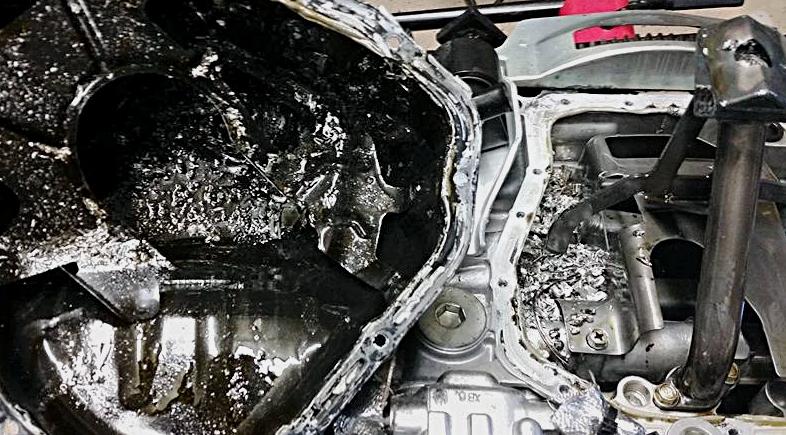 Complete engine failure