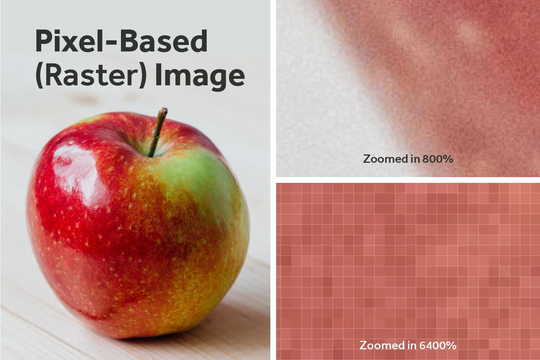 Pixel-Based-Raster-Image