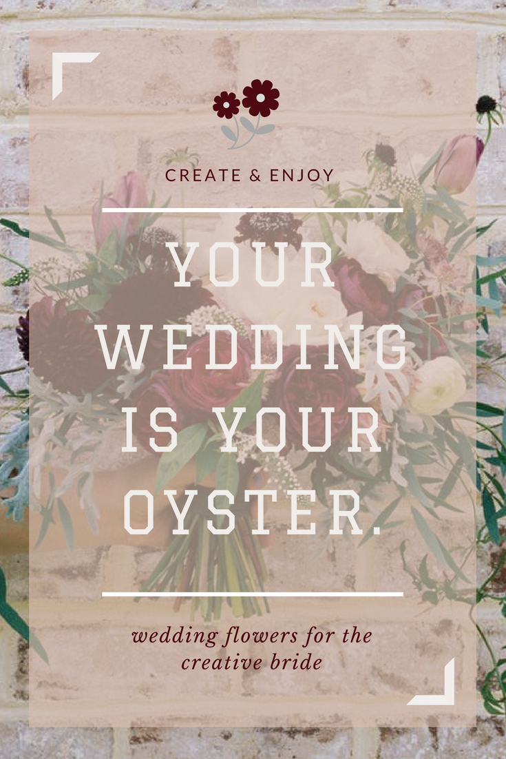 your wedding is your oyster
