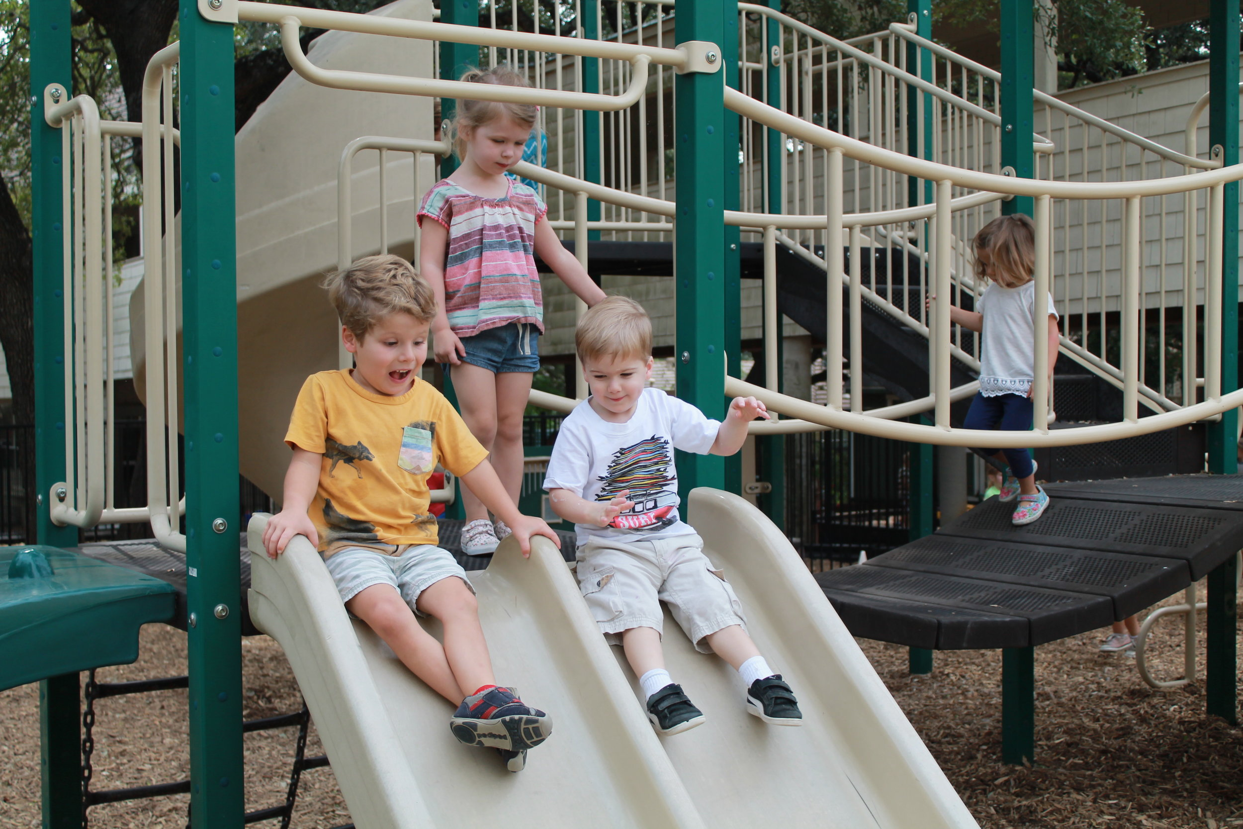 Playground - Participate in 2-3 Saturday workdays during the year to assist with playground upkeep.