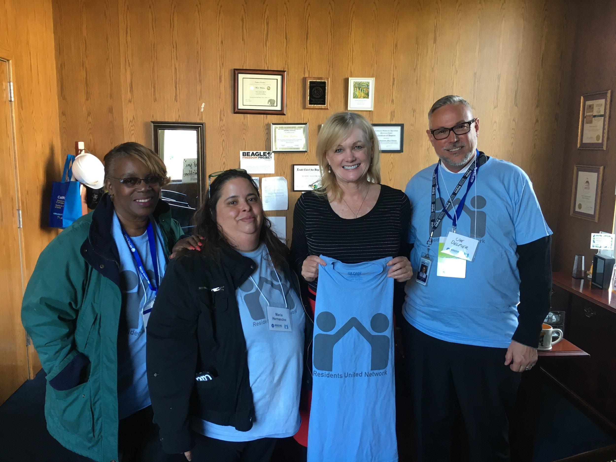 RUN Residents Advocating on Lobby Day 2018