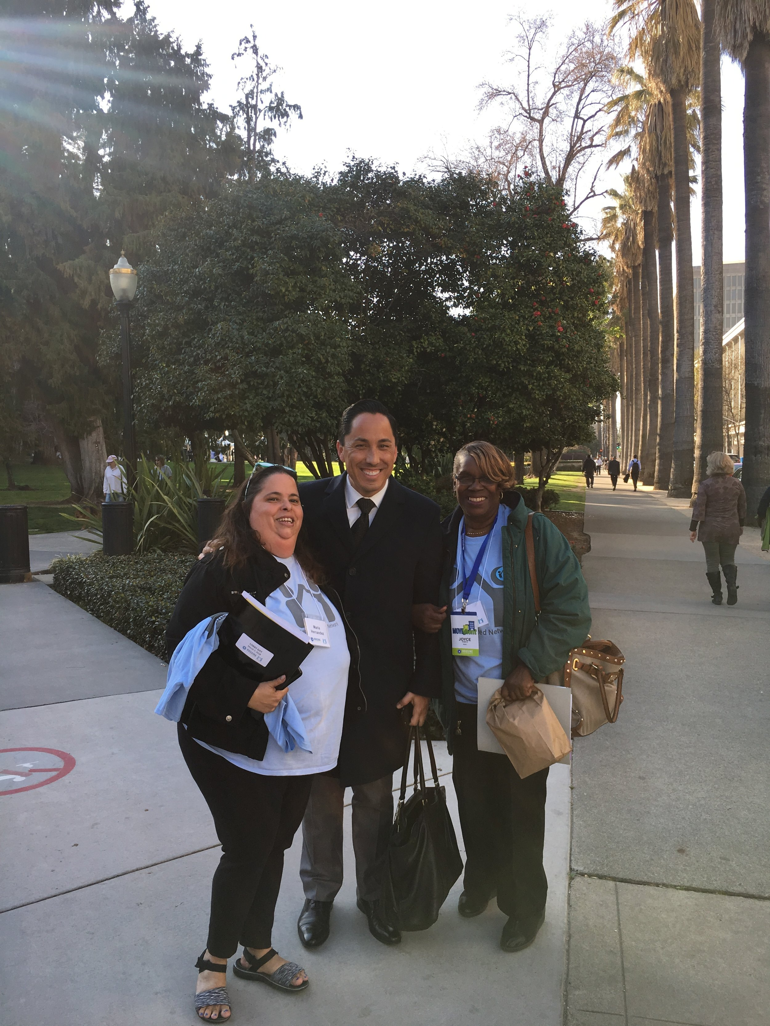 RUN Residents meeting Assemblymember Todd Gloria in Sacramento