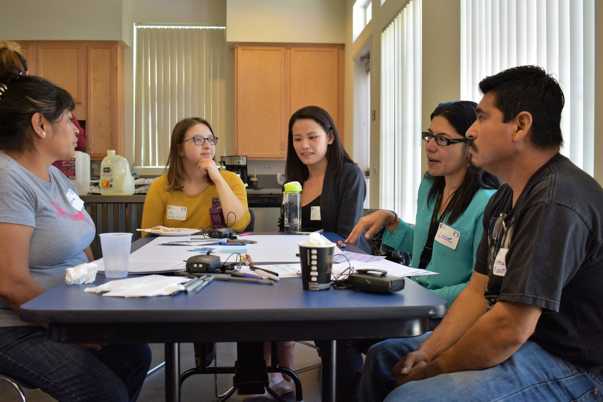 Residents Discussing Priority Housing Issues at Regional Convening, Sept 2018