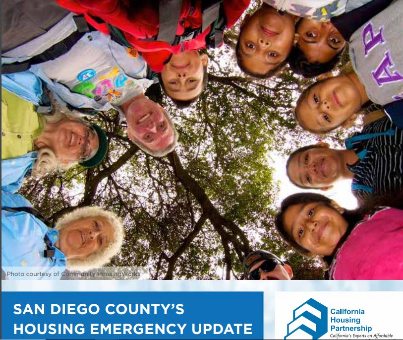 2019 CHPC Report: San Diego County's Housing Emergency Update - Each year, California Housing Partnership releases a report affordable housing in each County. This years report revealed that San Diego needs over 136,000 more affordable rental homes to meet the current demand.