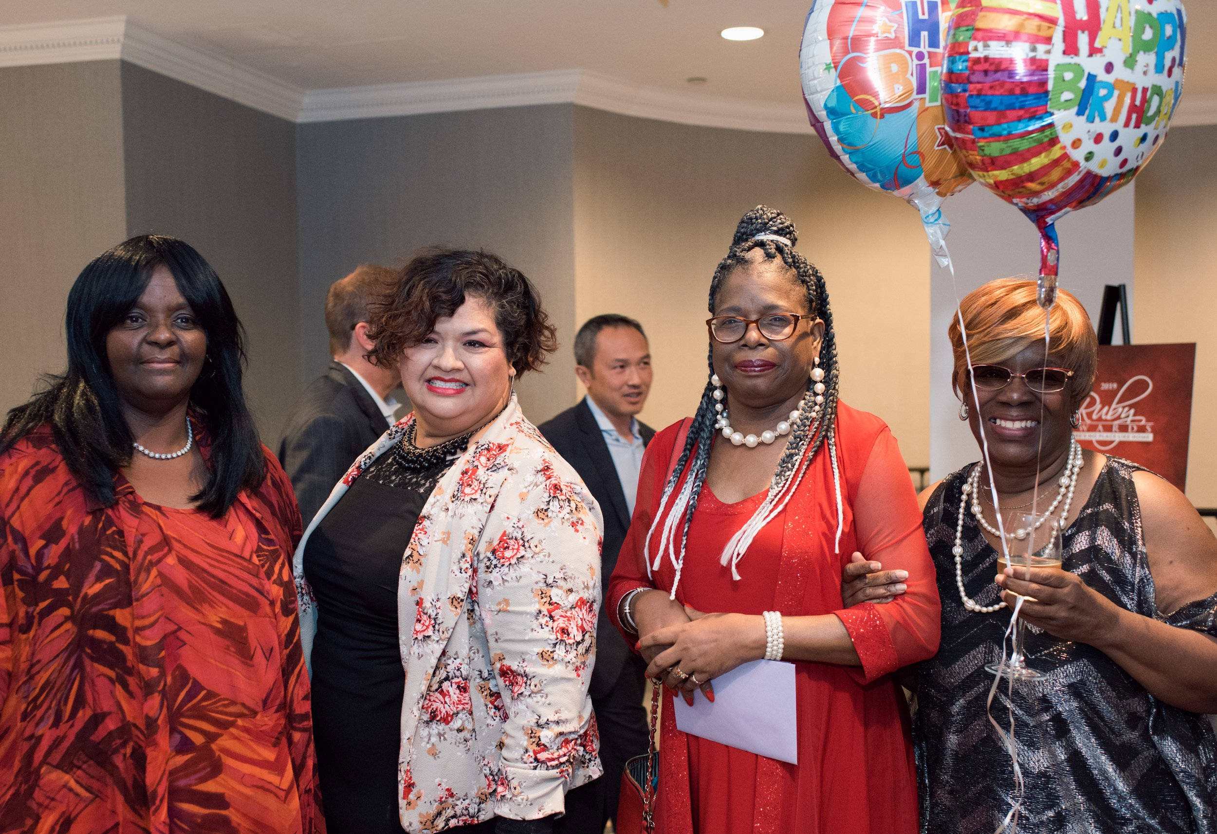Celebrating Miss Joyce's Birthday at the Ruby's, May 2019