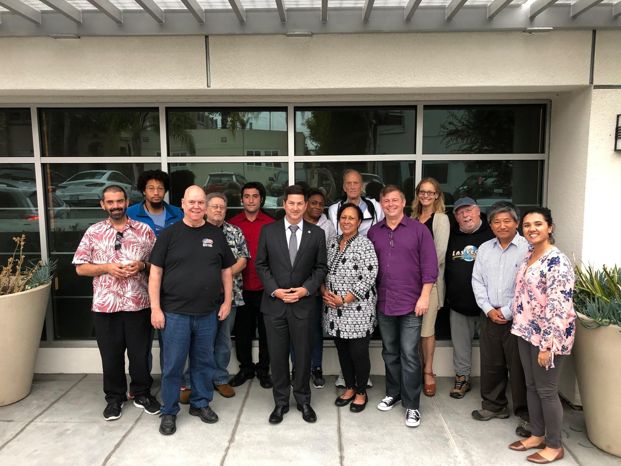San Diego HEAL meets with Councilmember Ward, June 2019