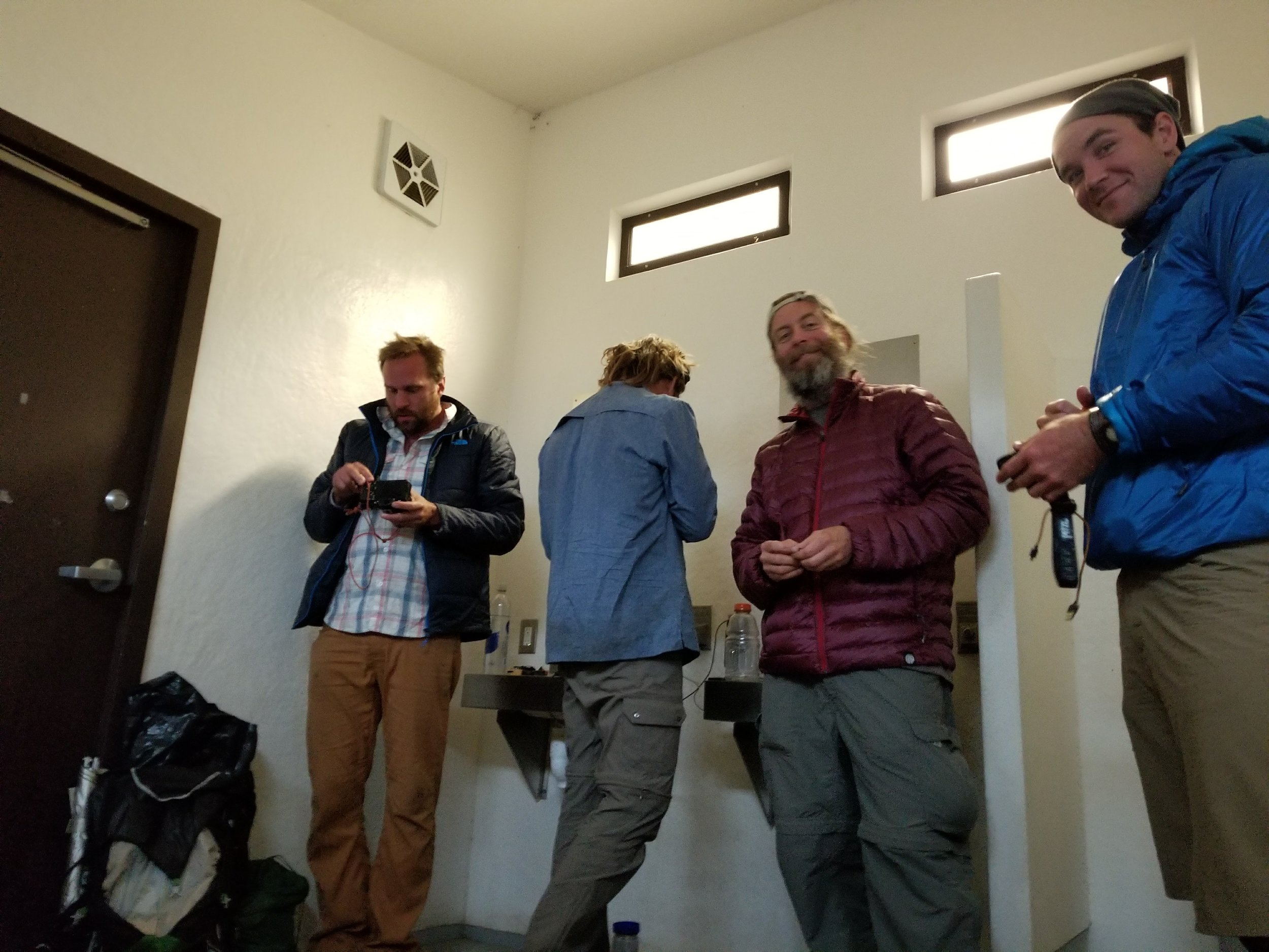 The only picture I bothered taking today to capture the really excellent experience of eating ramen right next to a camp toilet with four strange men.  #livingthedream.