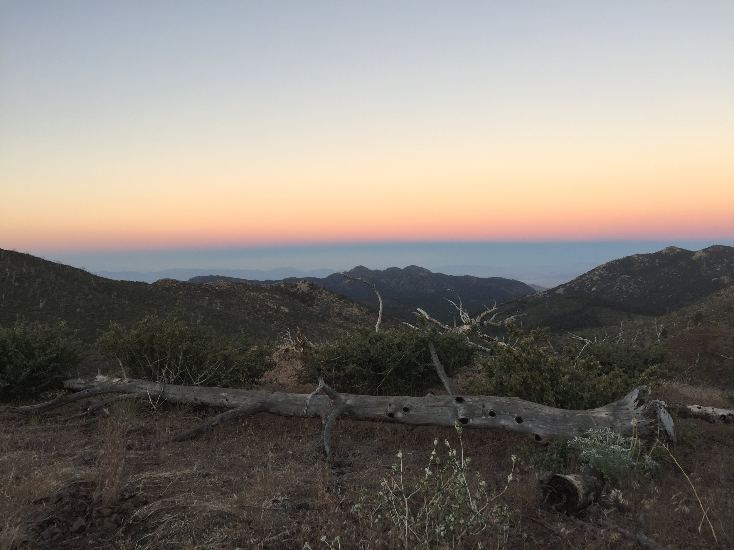 So long, SoCal sunsets