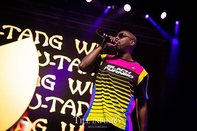 """The Rebel INS""  Wu-Tang Clan celebrates the 25th Anniversary of ""Enter the 36 Chambers"" Album at the Virginia Credit Union Live! In Richmond, Virginia. • #TillInfinityMultimedia #MomentsLastForever #Photography #Art #Artist #Music #HipHop #Performance #WuTangClan #36Chambers #enterthe36chambers #InspectahDeck #NY #StatenIsland #Shaolin #blackpyramid"