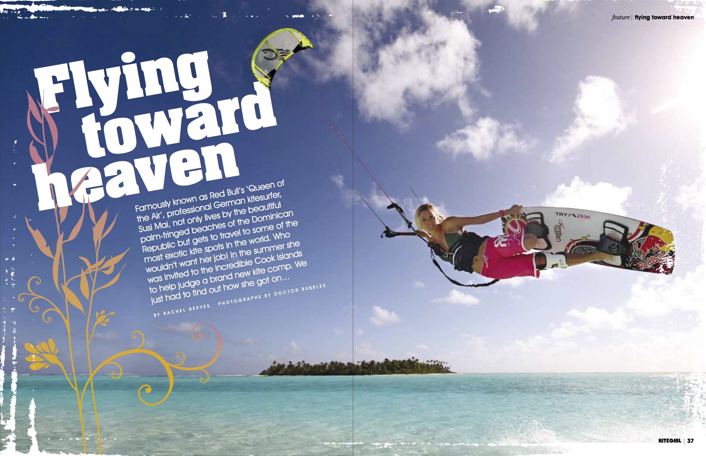 Flying Toward Heaven