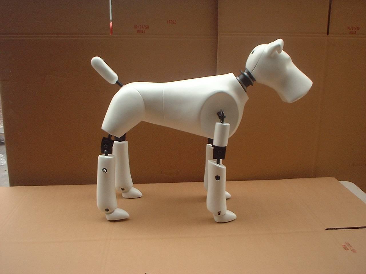 Faux Crash Test Dummy Dog