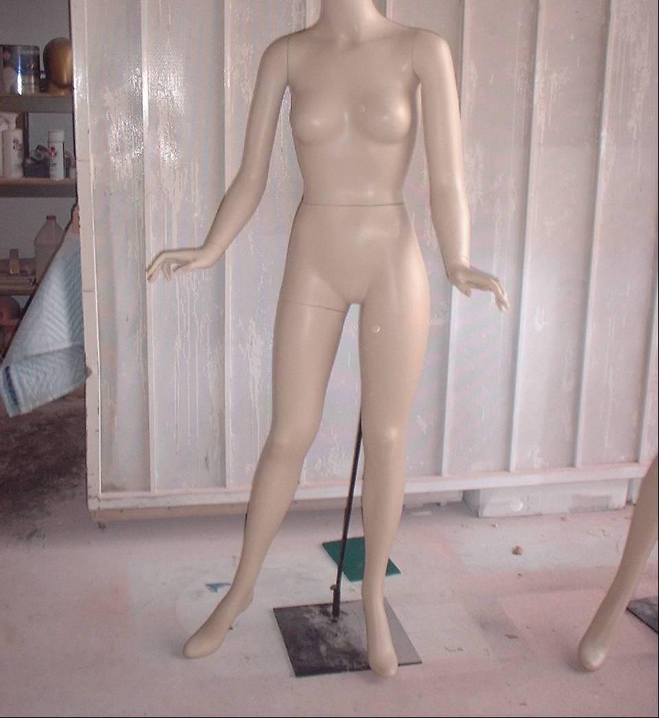 Basic Vintage Female Standing
