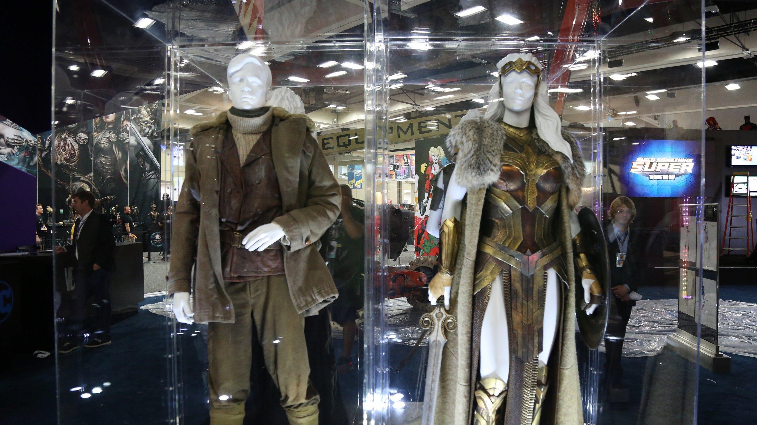Wonder Woman Costume Display