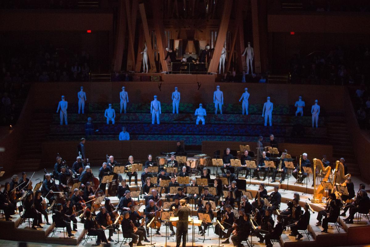 LA Philharmonic and our Mannequins