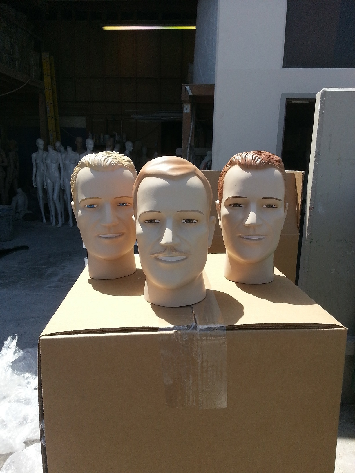 More Male Vintage Heads