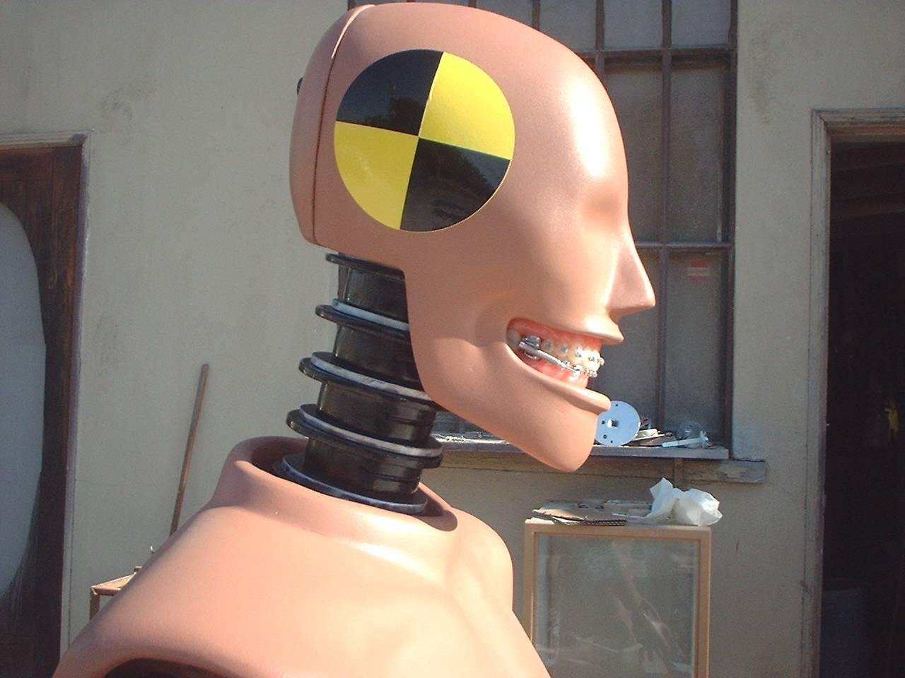 A customized Faux Crash Test Dummy