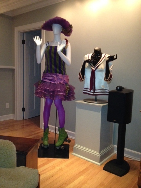 Funny Girl Costume Display
