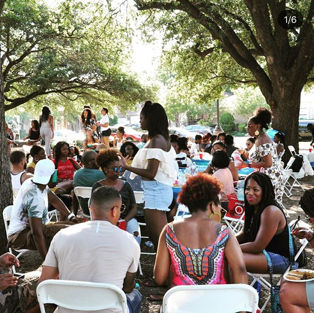 Last Cookout we had was 🍌. This year won't be much different. Come get connected with new people, link up with old friends, and vibe in Dallas in a special way you can't find elsewhere. #TheConnectDallas  Grill N Chill THIS SUNDAY! Don't miss it. Link in bio.  #connected #dallas #networking #blackness #blogger #influencers #blog #blackgirlmagic #dallasnightlife #drinks #love #influencer #people #melanin #fun #moves #gettogether #entrepreneur #summer #blacks #social #blackprofessionals #culture #blackexcellence #socialize #blackdallas