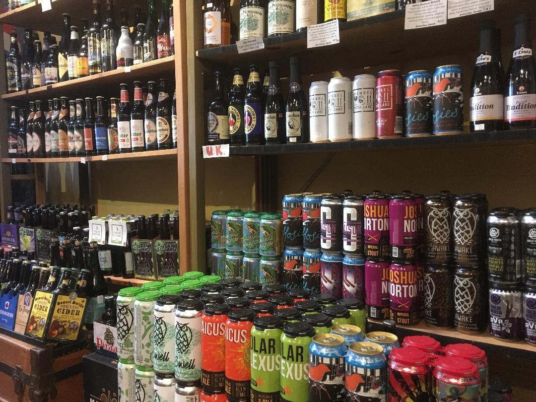 BEER - At the store we are excited to offer a selection of hard to find, rare  beers, crafted from small producers. We strive to seek out smaller and hard to find beers representing local and around the world.  Throughout our travels we have visited breweries in England, France, US, Switzerland, Germany, Spain and Quebec.The store also offers a selection of ciders from local and European producers.