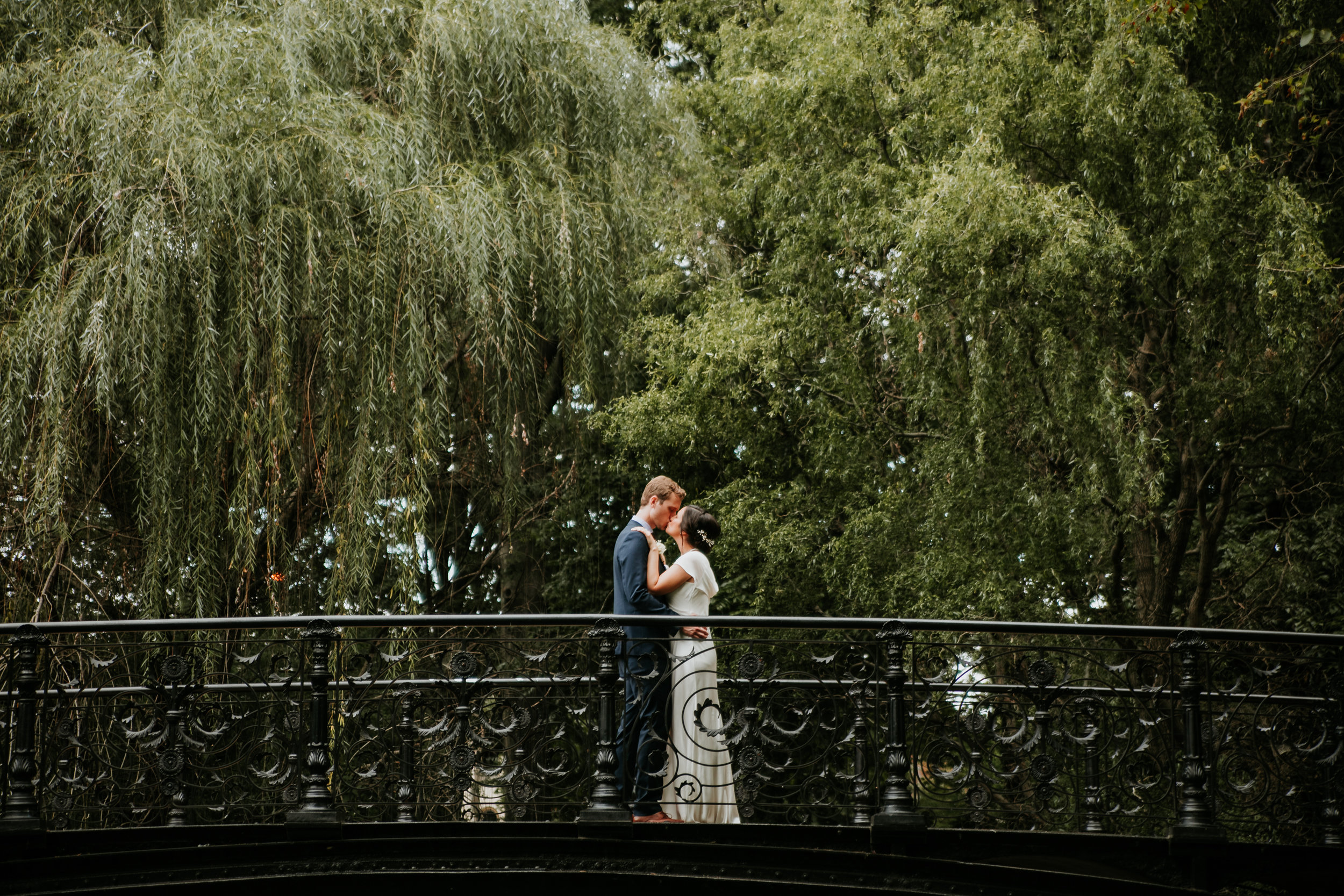 Intimate Wedding in Historic Lafayette Square