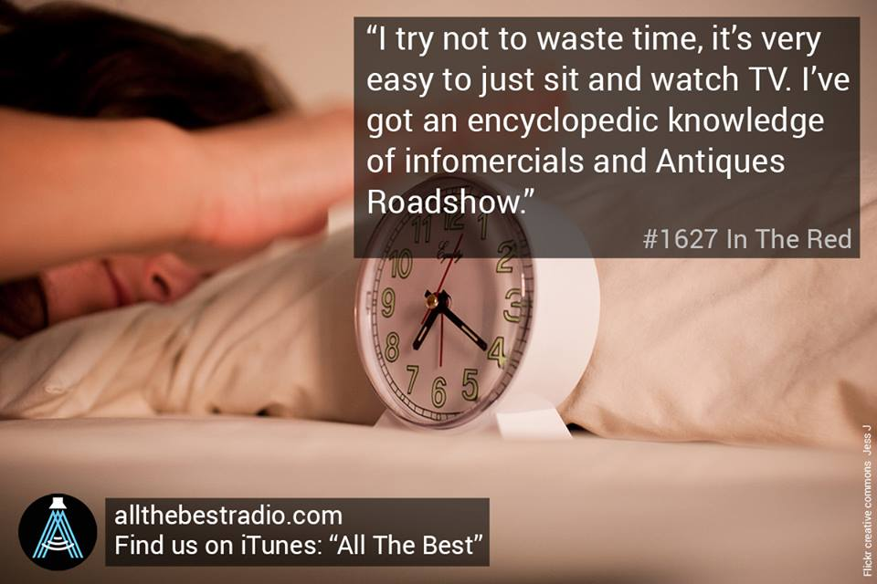 My audio documentary on sleep debt - which can be listened to  here .