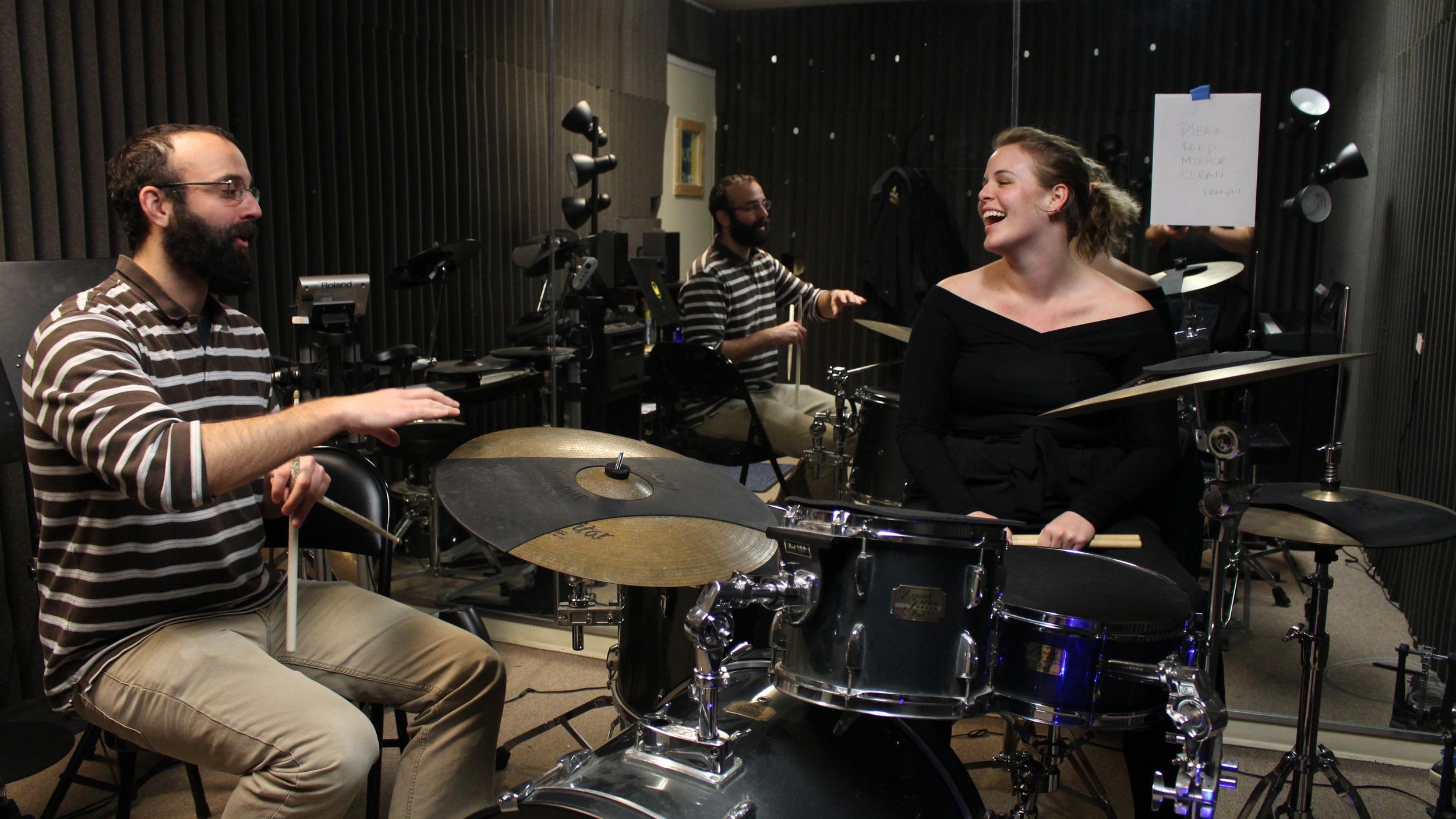 Meet Drum Music Instructor: Glen Wallace 2 - Burlington Music Dojo