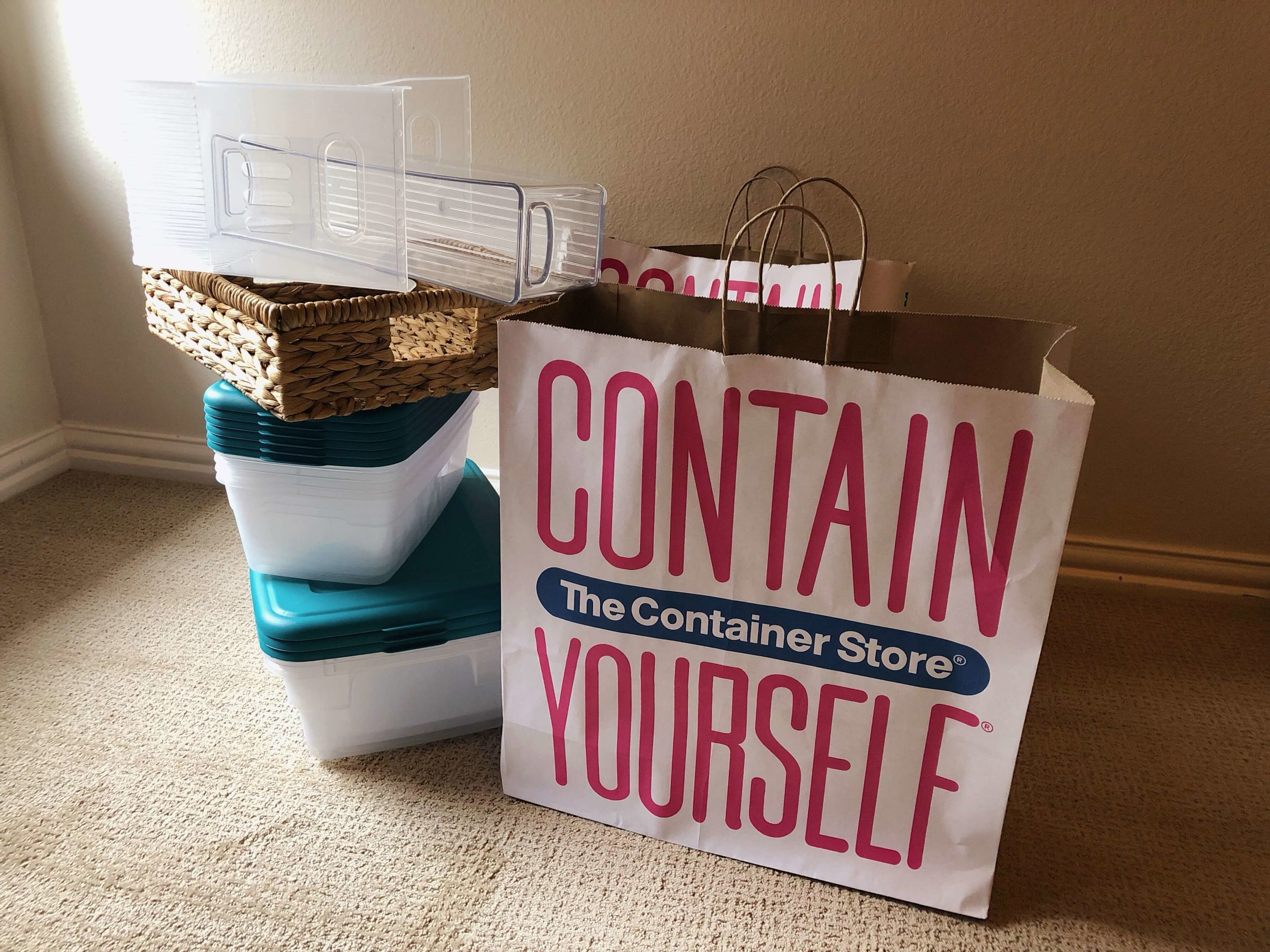 Container Store Bins