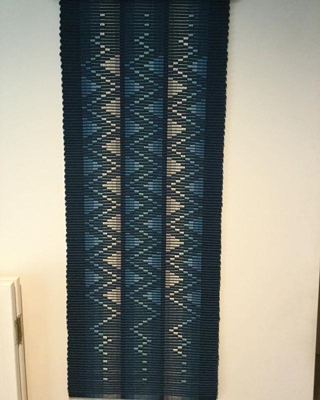 Zig-Zag, 8 shafts Rep weave