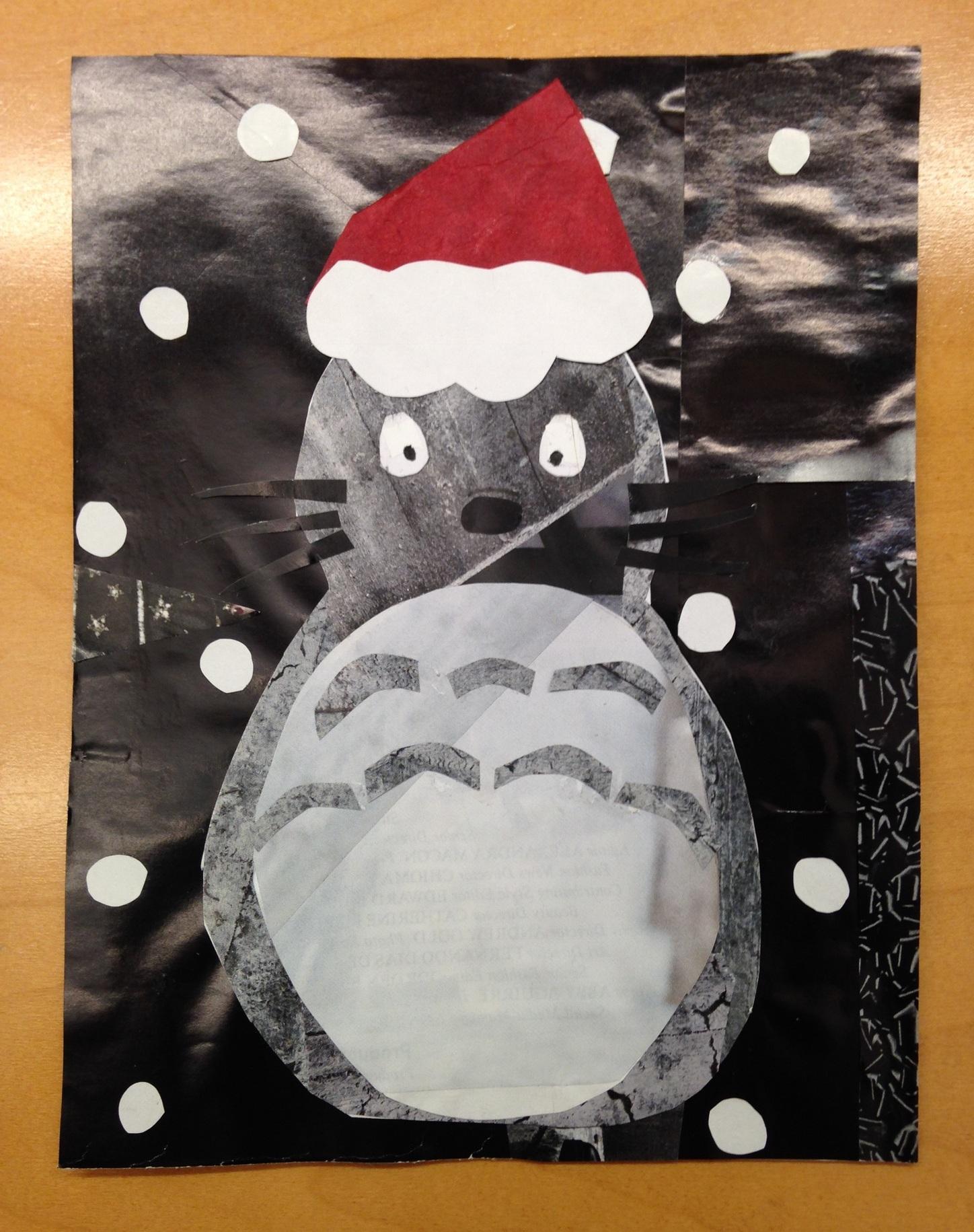 Totoro Santa
