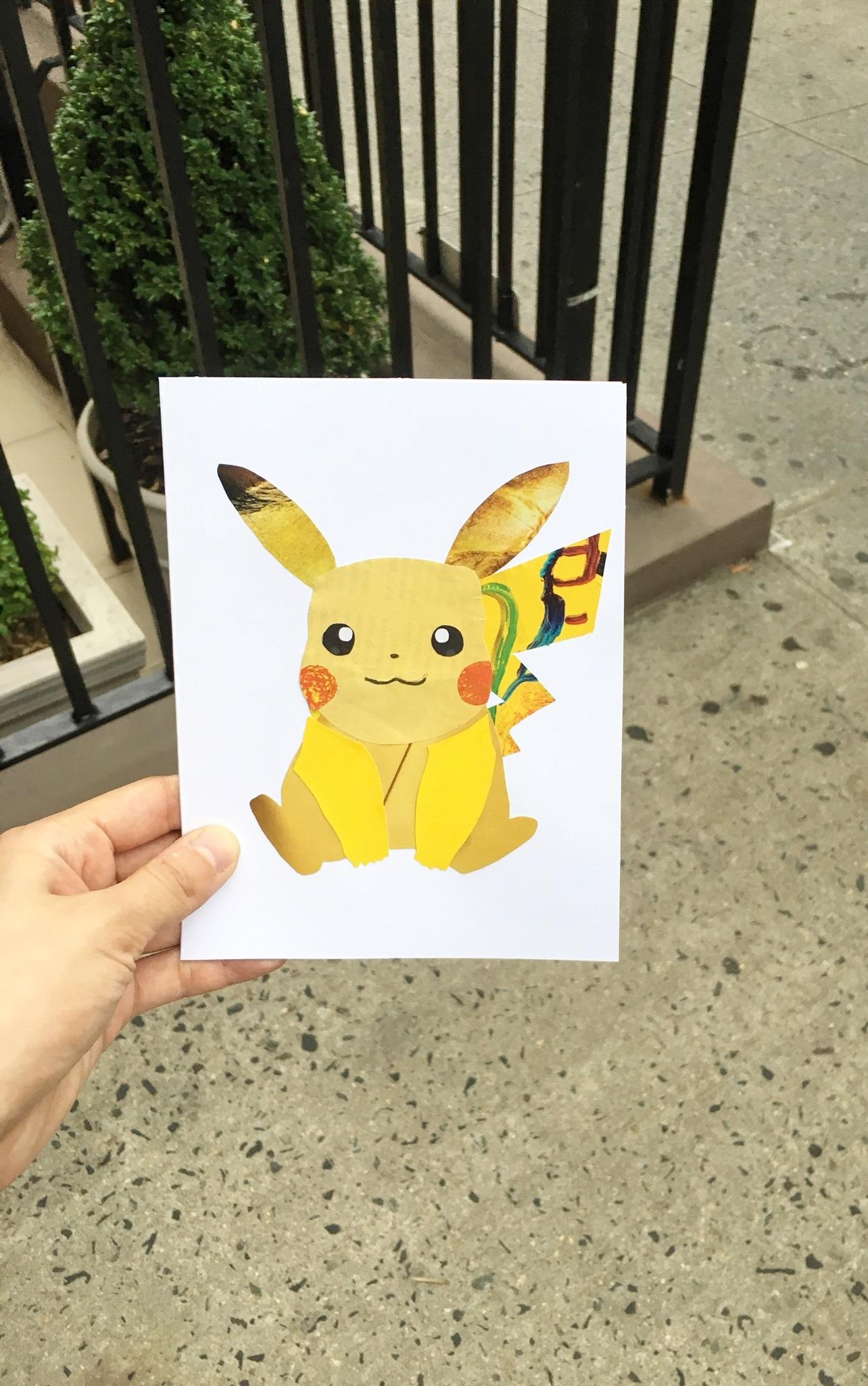 Pikachu in the Wild