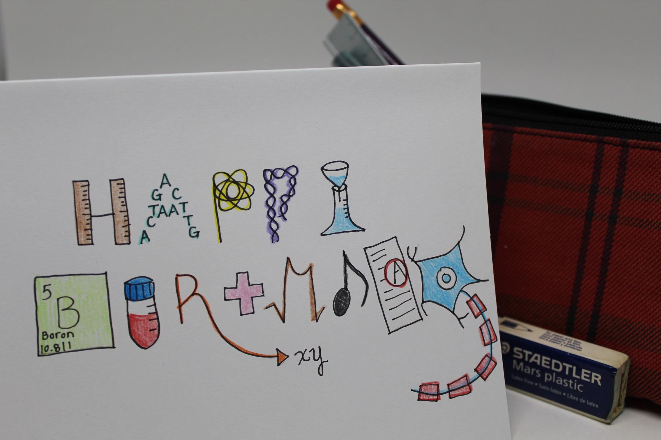 Biology Happy Birthday