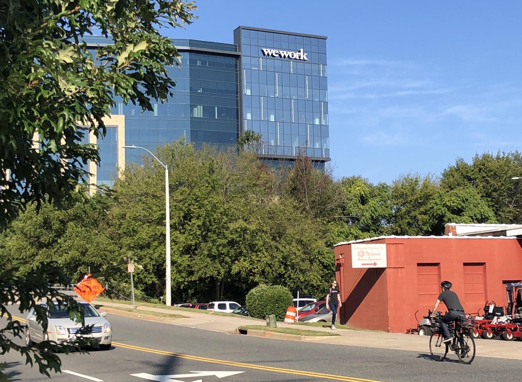 WeWork building in Raleigh, North Carolina