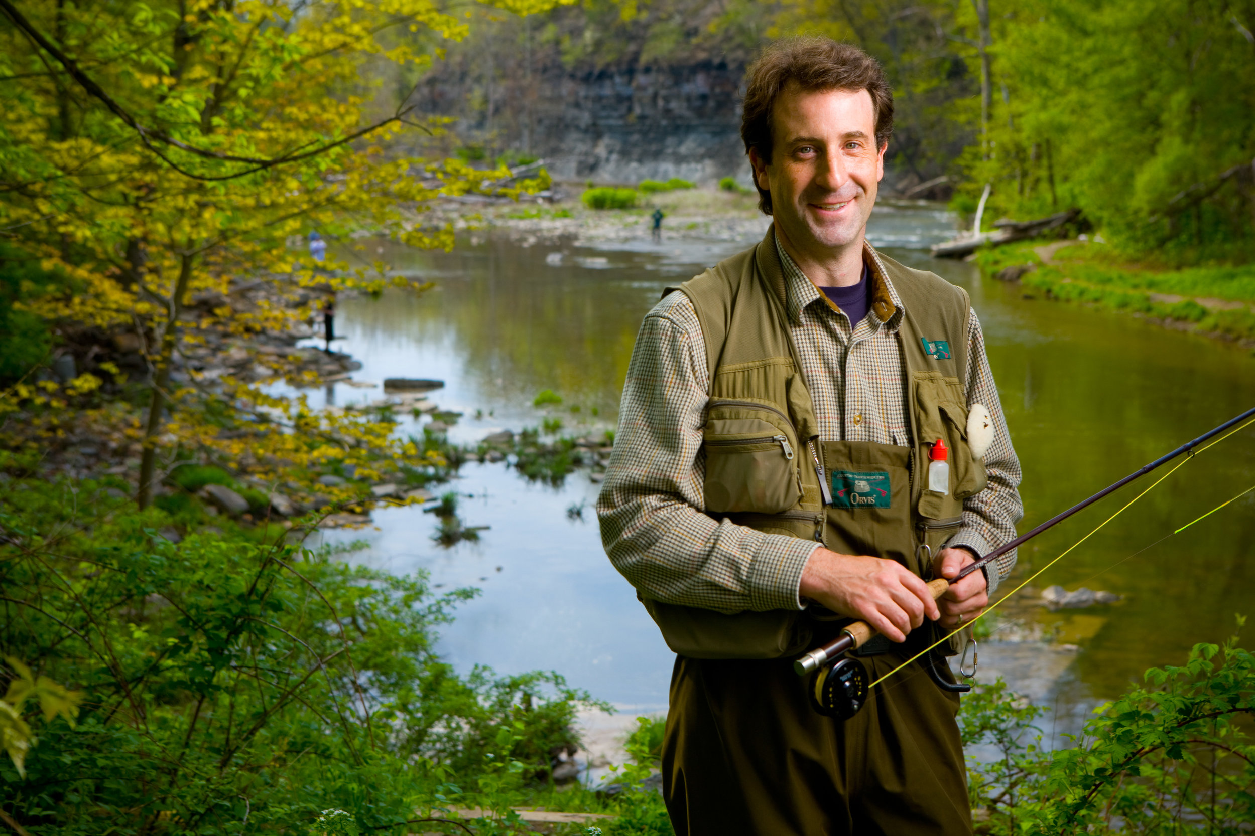 Matthew Bonner, Professor of Social and Preventative Medicine at the 18 Mile Creek
