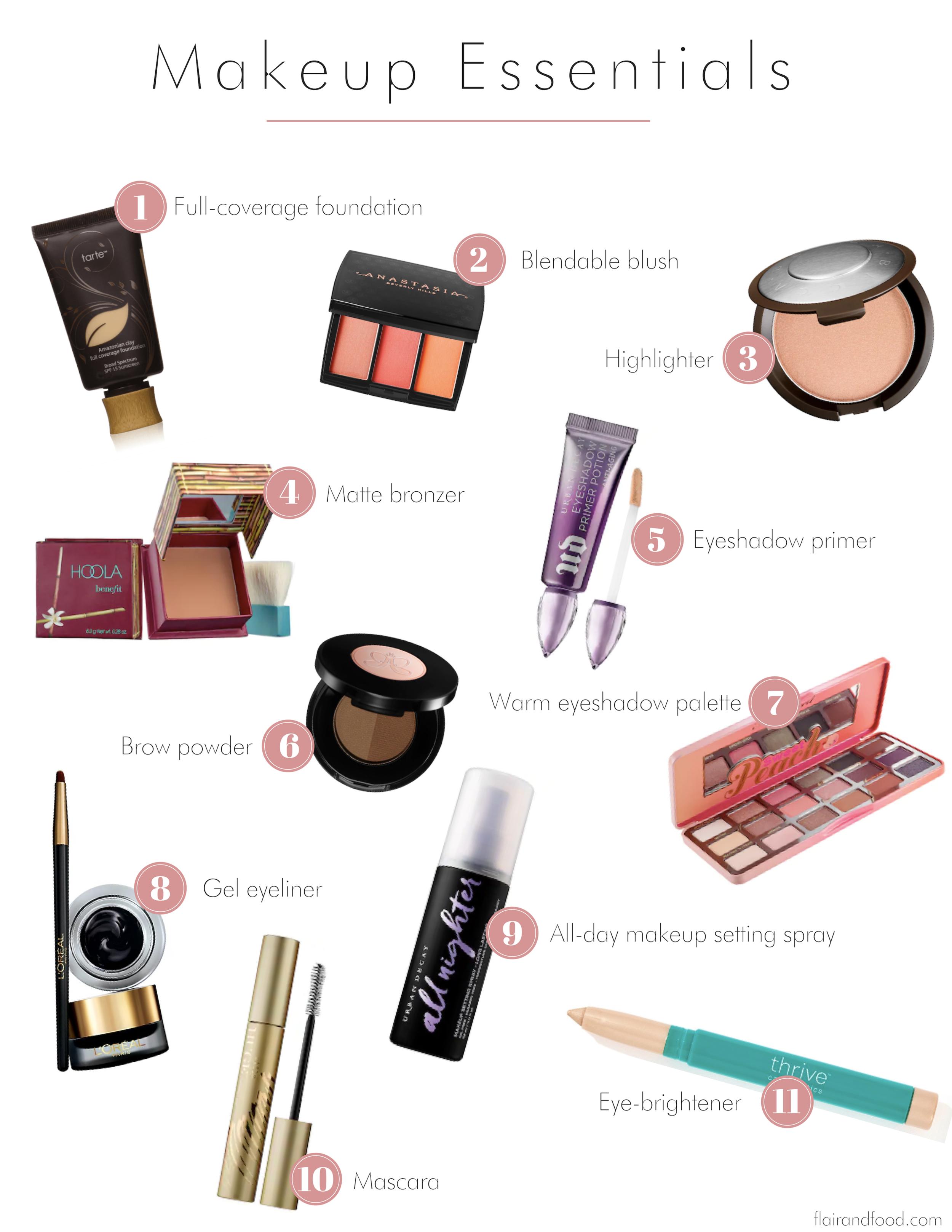 My Everyday Makeup Essentials