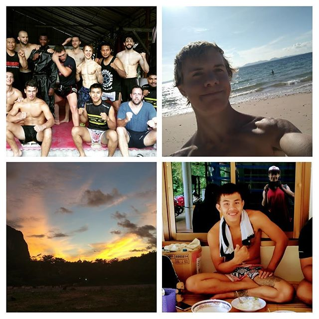 2 years ago today #thailand #kickboxing camp