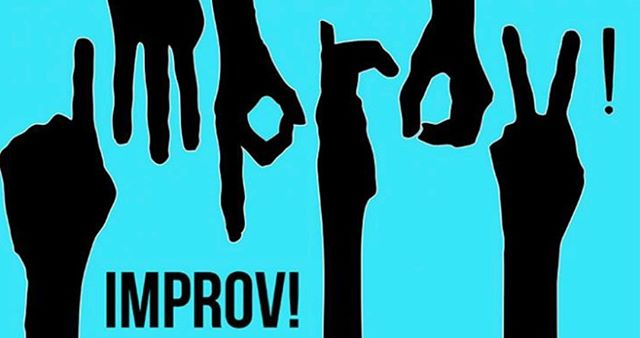 Drama Club & Guests: This Thursday 4/18 @ lunch. Ms. B is running an improv workshop. She'll begin exactly 5 minutes after the first bell. All are welcome; feel free to join us already in progress if you need to. Bring a friend, and be ready to either be an active participant or engaging audience member! 🤡😹👏⛑👜🎩👑💼🙈🙉🙊🏋🏽‍♂️🤺🎭🎬🎤🎟⚰️💈🔗🔍‼️📵🔱🔜